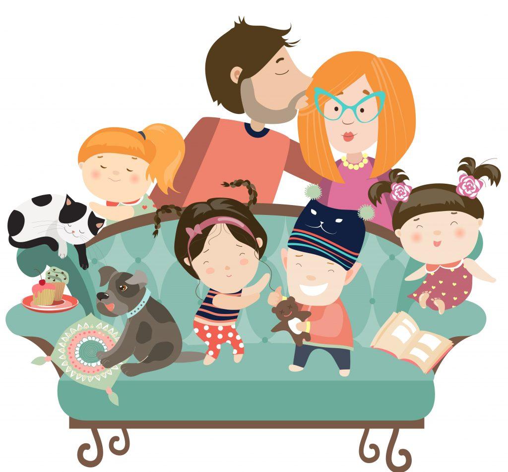 filhos na família moderna
