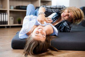 Mãe e filha -puberdade e perimenopausa